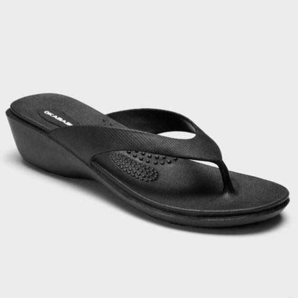 Okabashi Shoes - Women's Splash Sustainable Wedge Sandals Okabashi